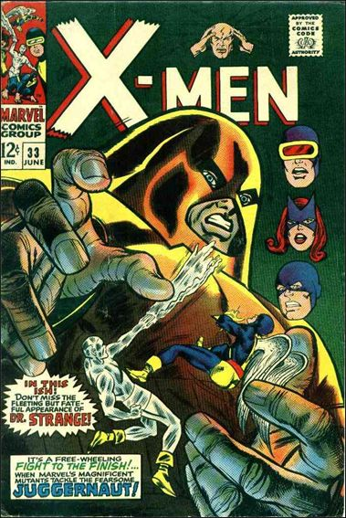 X-Men (1963) 33-A by Marvel