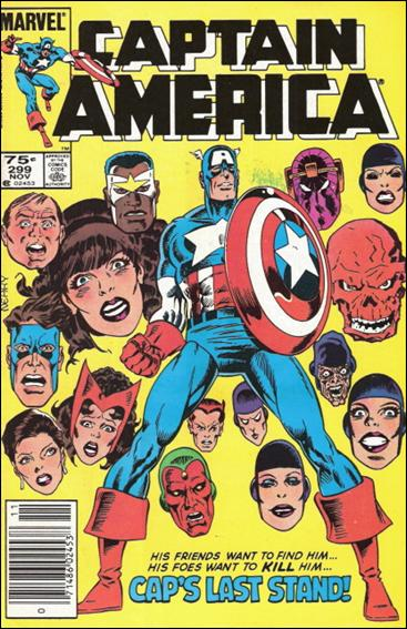 Captain America (1968) 299-B by Marvel