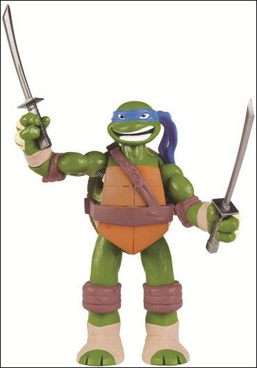 Teenage Mutant Ninja Turtles (2012) Power Sound FX Leonardo (Loose) by Playmates