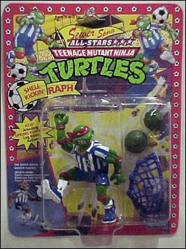 Teenage Mutant Ninja Turtles: Sewer Sports Allstar Turtles Shell Kickin' Raph by Playmates