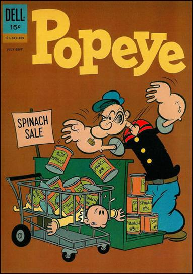 Popeye (1948) 65-A by Dell