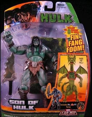 Marvel Legends: Hulk (Fin Fang Foom Series) Son of Hulk by Hasbro
