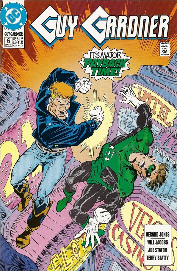 Guy Gardner 6-A by DC