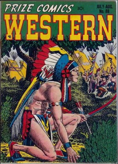 Prize Comics Western 88-A by Feature