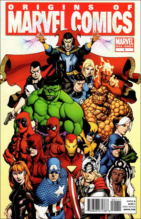 Origins of Marvel Comics 1-A by Marvel