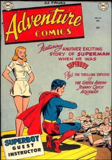 Adventure Comics (1938) 147-A by DC