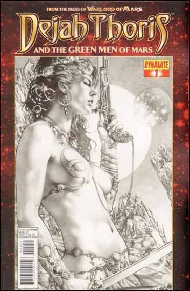 Dejah Thoris and the Green Men of Mars 1-E by Dynamite Entertainment