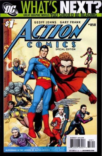 Action Comics (1938) 858-D by DC