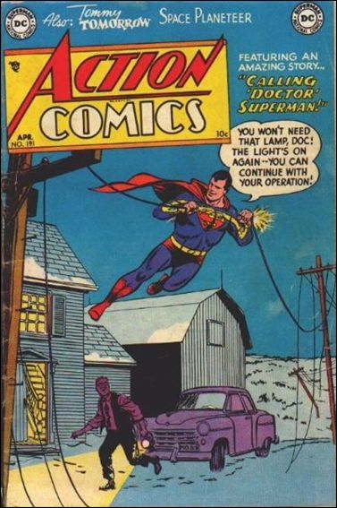 Action Comics (1938) 191-A by DC