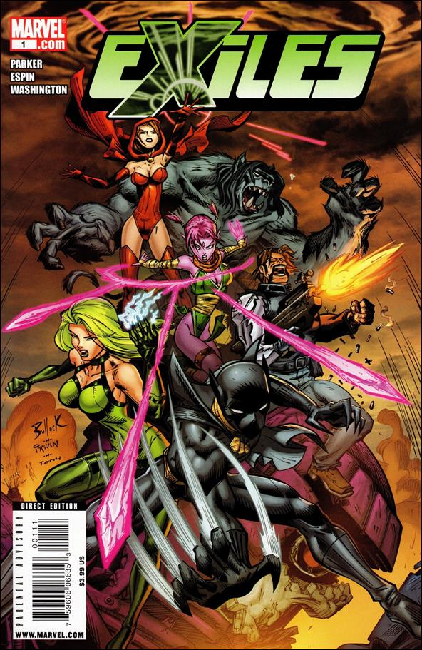 Exiles (2009) 1-A by Marvel