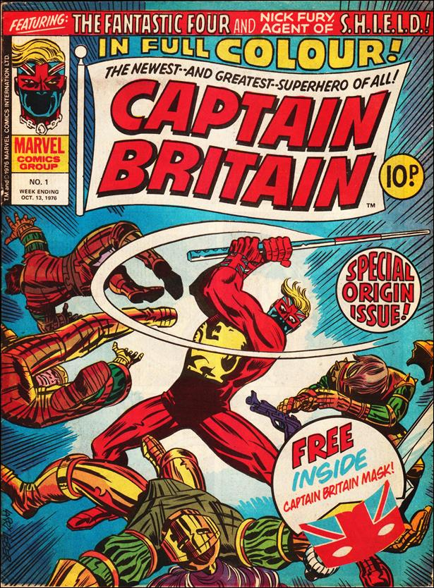 Captain Britain (UK) (1976) 1-A by Marvel UK