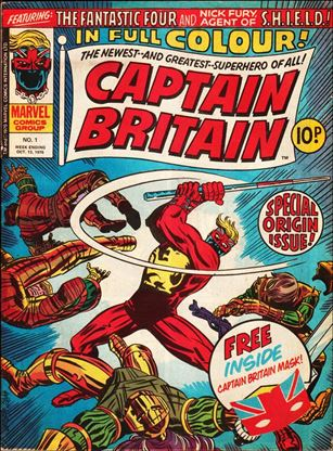 Captain Britain (UK) (1976) 1-A