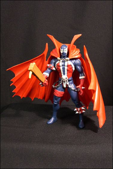 Spawn (Series  1) Spawn (Blue Costume) by Todd Toys