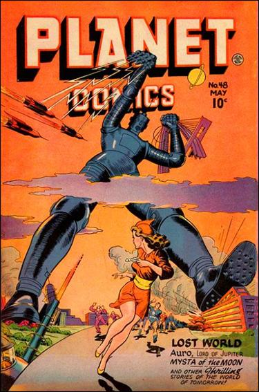 Planet Comics (1940) 48-A by Fiction House Magazines