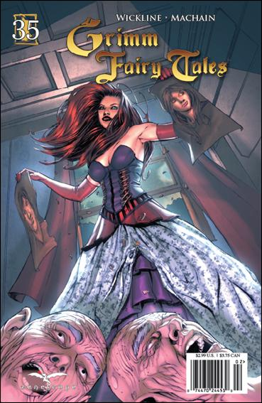 Grimm Fairy Tales 35-A by Zenescope Entertainment