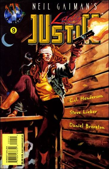 Neil Gaiman's Lady Justice (1995) 9-A by Tekno•Comix