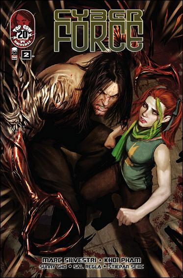 Cyberforce (2012) 2-D by Top Cow
