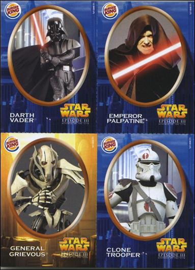 Star Wars: Episode III Revenge of the Sith Burger King Stickers (Promo) nn3-A by Lucasfilm Ltd.