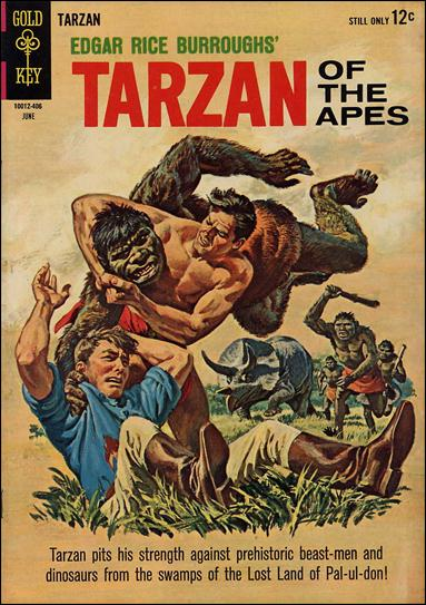Tarzan (1962) 142-A by Gold Key