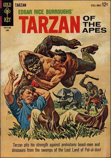 Tarzan (1962) 142-A by Gold Key