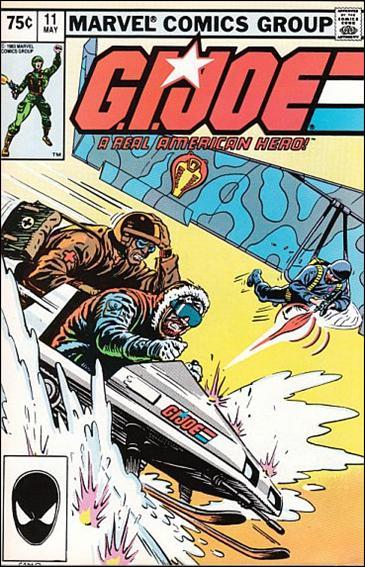 G.I. Joe: A Real American Hero 11-B by IDW