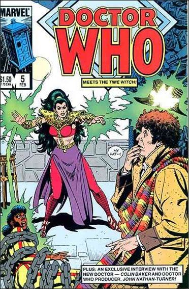 Doctor Who (1984) 5-A by Marvel