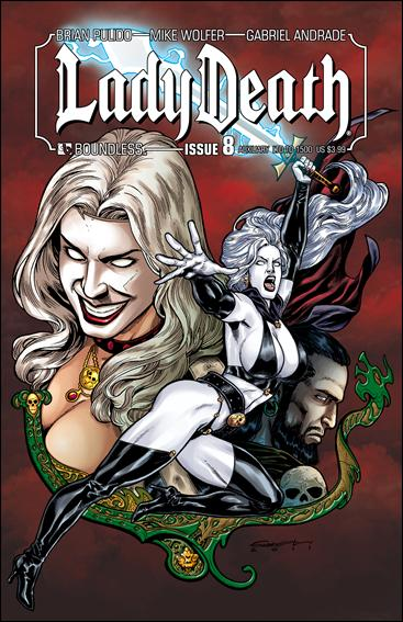 Lady Death (2010) 8-D by Boundless Comics