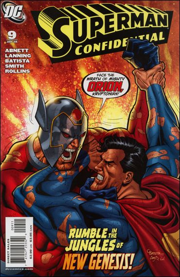 Superman Confidential 9-A by DC
