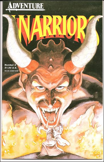 Warriors (1987) 3-A by Adventure