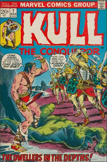 Kull the Conqueror (1971) 7-A by Marvel