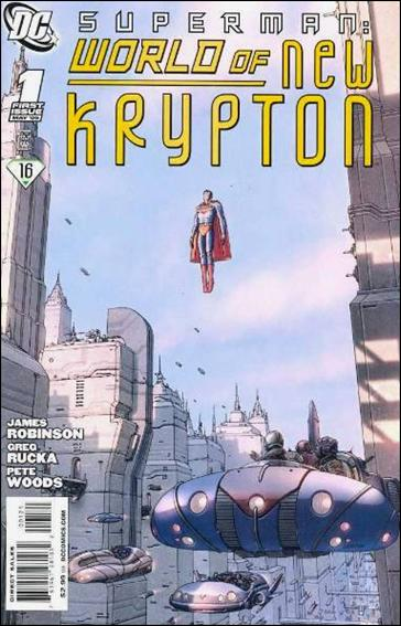 Superman: World of New Krypton 1-B by DC