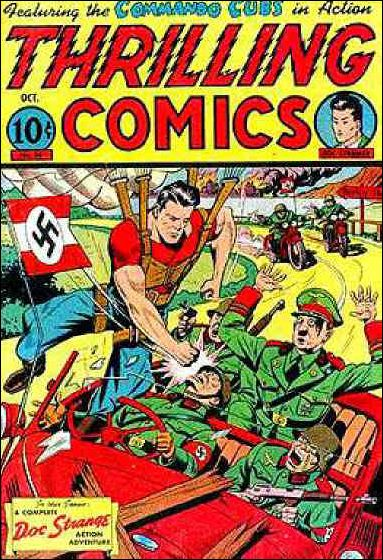 Thrilling Comics (1940) 44-A by Standard
