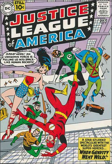 Justice League of America (1960) 5-A by DC