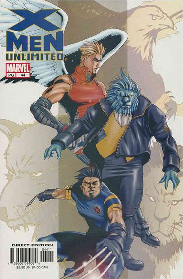 X-Men Unlimited (1993) 44-A by Marvel