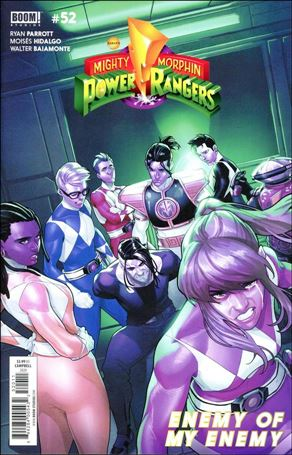 Mighty Morphin Power Rangers 52-A