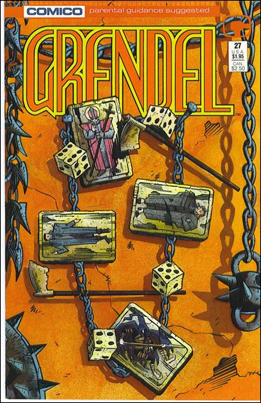 Grendel (1986) 27-A by Comico