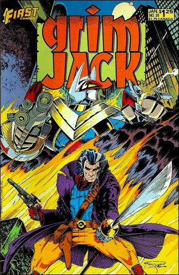 Grimjack 30-A by First