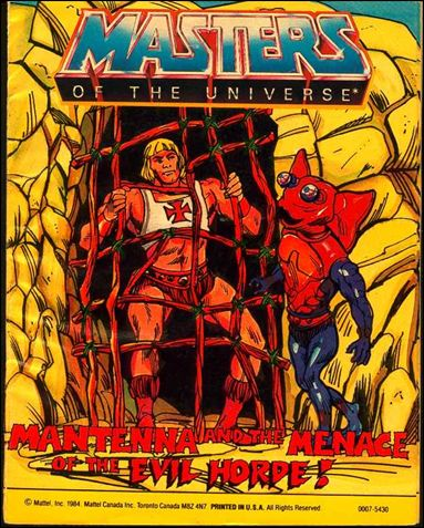 Masters of the Universe (1983) 4.8-B by Mattel