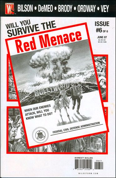 Red Menace 6-A by WildStorm