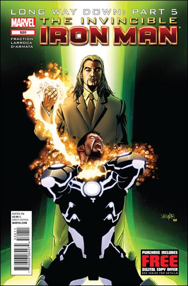Invincible Iron Man (2008) 520-A by Marvel