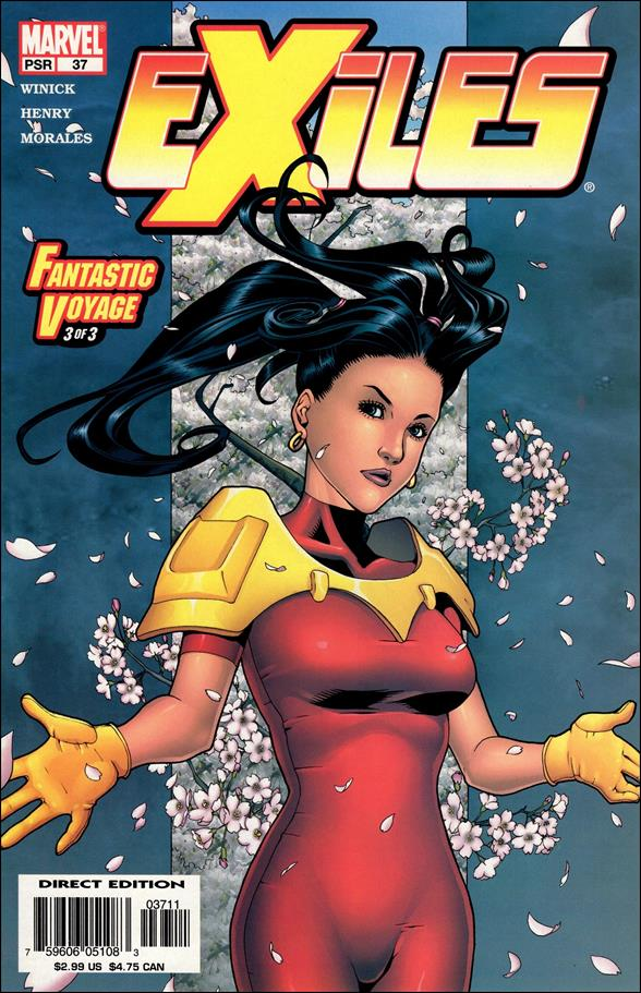 Exiles (2001) 37-A by Marvel