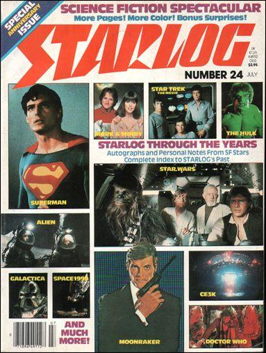 Starlog 24-A by Starlog