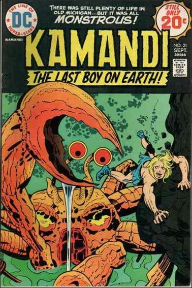 Kamandi, the Last Boy on Earth 21-A by DC