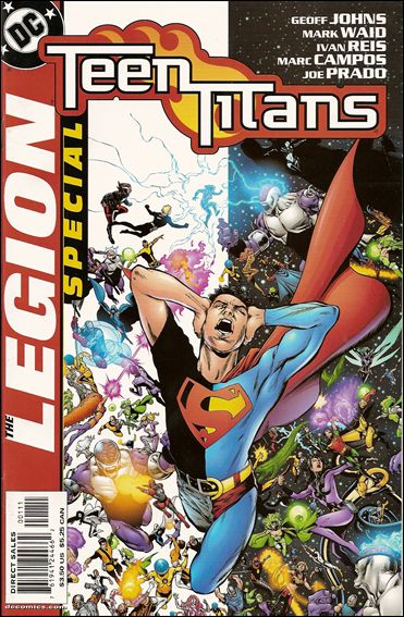 Teen Titans/Legion Special 1-A by DC