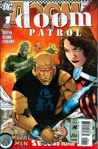 Doom Patrol (2009) 1-A by DC