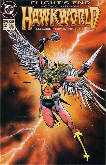 Hawkworld (1990) 32-A by DC