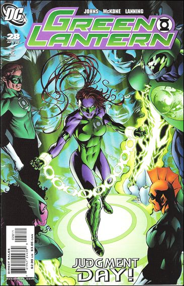 Green Lantern (2005) 28-A by DC