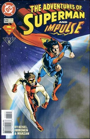 Adventures of Superman (1987) 533-A by DC