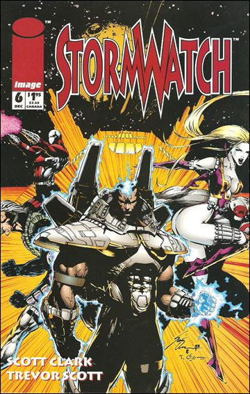 StormWatch (1993) 6-A by Image