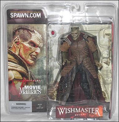 Movie Maniacs (Series 5) Djinn (Wishmaster) by McFarlane Toys